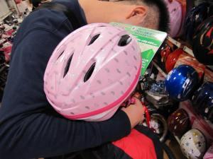 自転車ヘルメット2