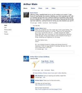 Facebook Wall Posting