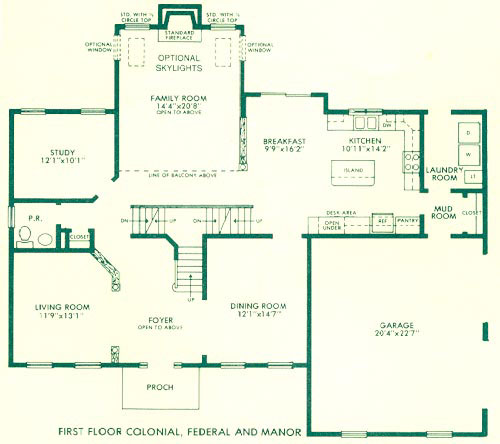 colonial new england house plans design