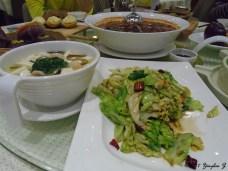 Stir-fried cabbage and Tofu