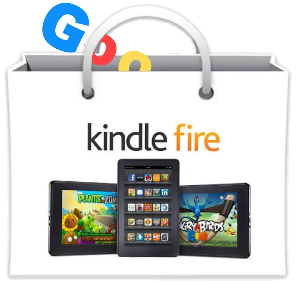 便利すぎて手放せない。AmazonのタブレットkindleFireにGooglePlayアプリをダウンロードしてみた。