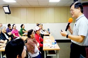 林文燦分享公部門的修行之旅 鍛鍊自身尋找價值