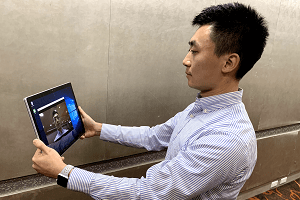 YZU students develop facial recognition system for campus security 元智工管系學生 開發臉部辨識 校園安全多層把關