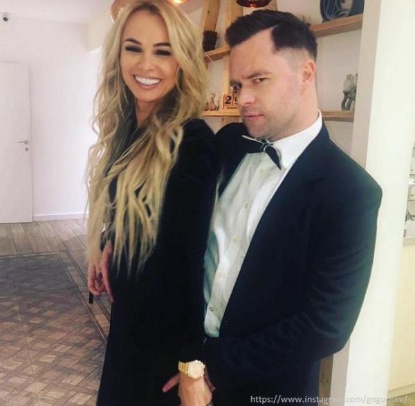 Виталий Гогунский намекнул на то, что его жена беременна