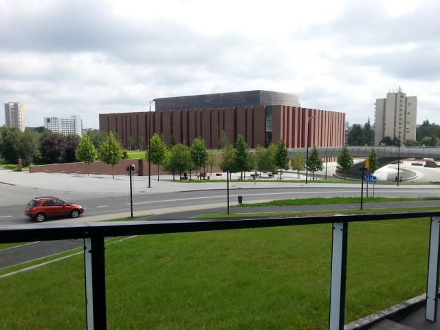 19 MCK Katowice Międzynarodowe Centrum Kongresowe plac Sławika i Antalla 1 Katowice JEMS Architekci Spodek NOSPR nowoczesna architektura geometryczne formy