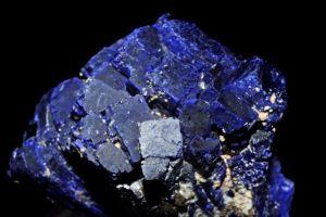 Krystalický azurit