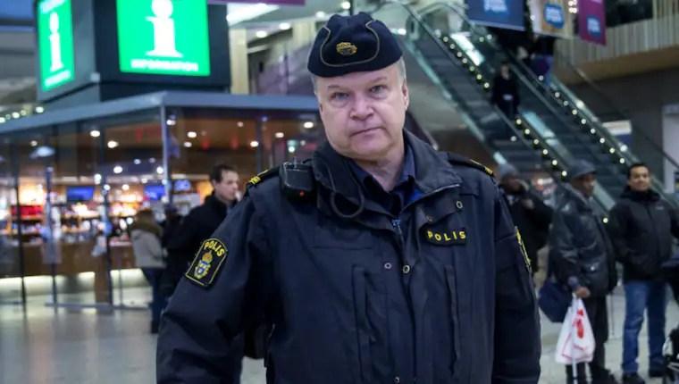 Polisinspektör Anders Karlsson riktar skarp kritik mot rikspolischefen Dan Eliasson. Foto: Anders Ylander