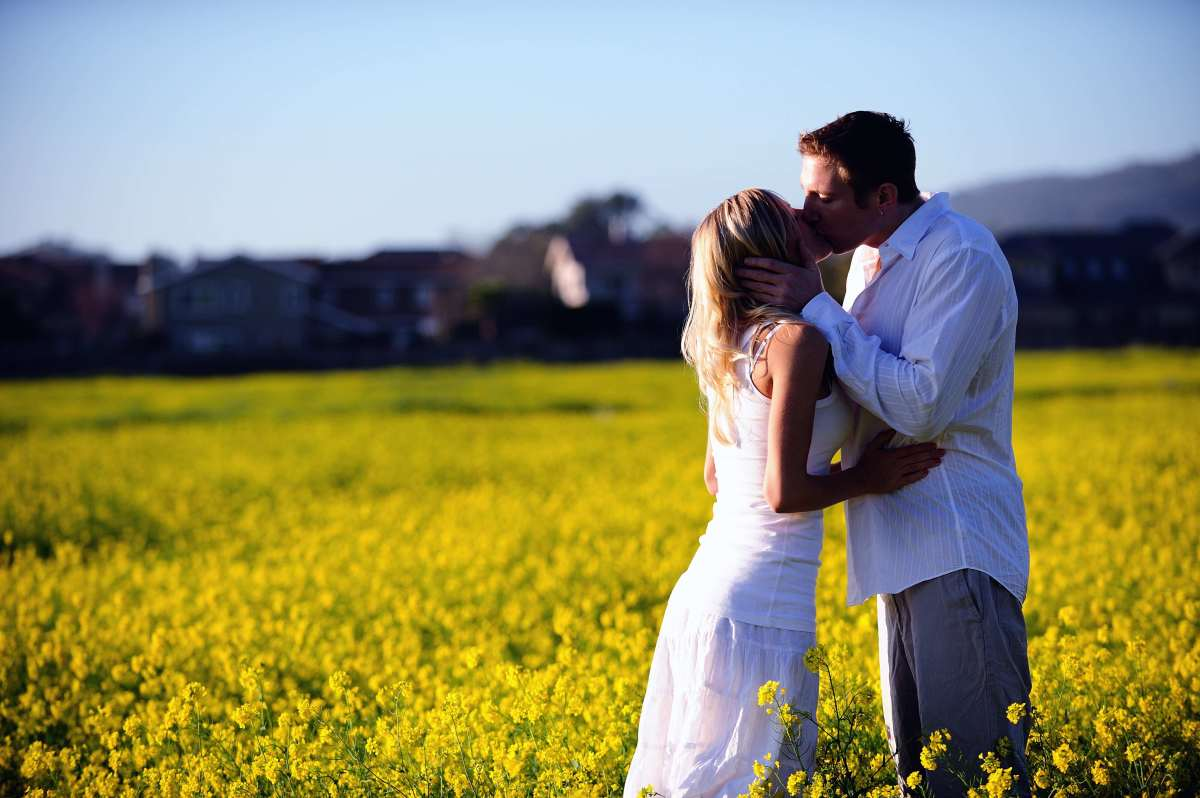 This yellow field was an unplanned stop and turned out to be one of our favorite locations.
