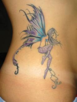 Fairy Tattoo Design for Women