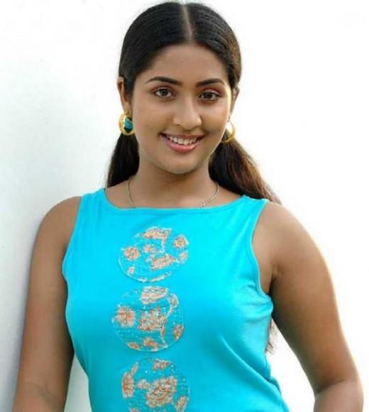Mallu Actress Navya Nair Hot Y Blouse Saree Pics