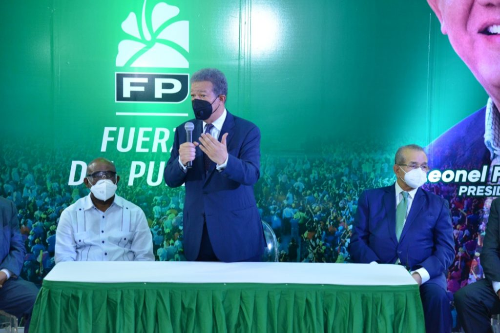 """Leonel: """"Fuerza del Pueblo ha clasificado como partido mayoritario"""""""