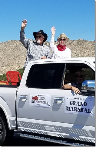 Grubstake Days 2017 Grand Marshal Ed Hardesty