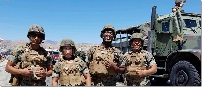 Grubstake Days 2017 MCAGCC Soldiers