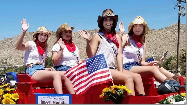 Grubstake Days 2017 Miss Yucca Valley and Court