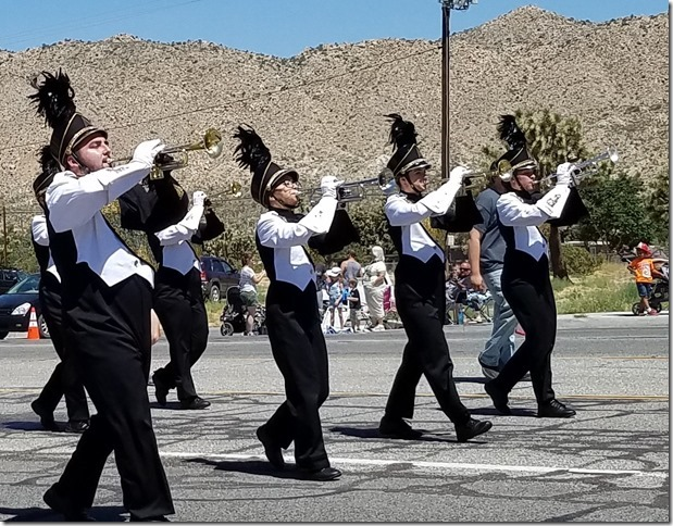 05.27.17 - Grubstake Days Parade - Yucca Valley High School Band