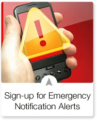 SIGN UP TO GET COUNTY EMERGENCY ALERTS ON YOUR CELL PHONE