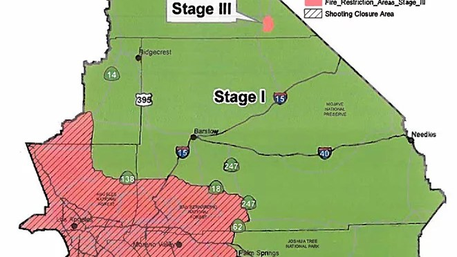 Fire Restrictions In Place On Blm Land In The Morongo Basin Z107 7 Fm
