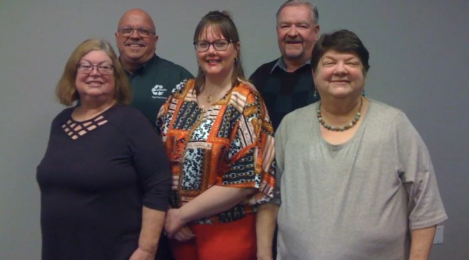 HEALTHCARE DISTRICT BOARD ELECTED NEW OFFICERS LAST NIGHT