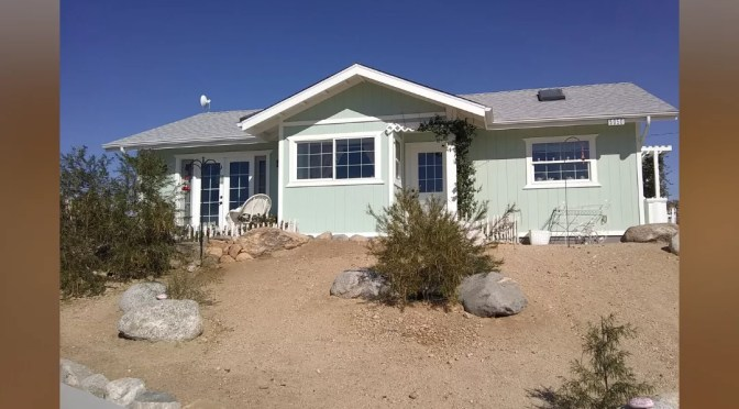 PARADE OF HOMES SUNDAY; A SNEAK PEAK AT YUCCA VALLEY