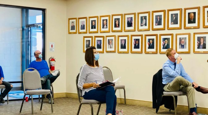 TWENTYNINE PALMS CITY COUNCIL WELCOMES THE PUBLIC BACK TO THEIR MEETING