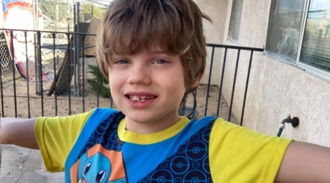 CORONER IDENTIFIES CHILD WHO DIED IN JOSHUA TREE HOUSE FIRE