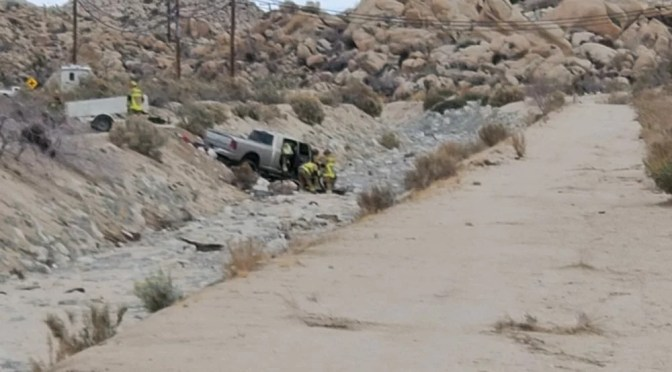 3 INJURED IN SUSPECTED DUI CRASH IN YUCCA VALLEY TUESDAY MORNING