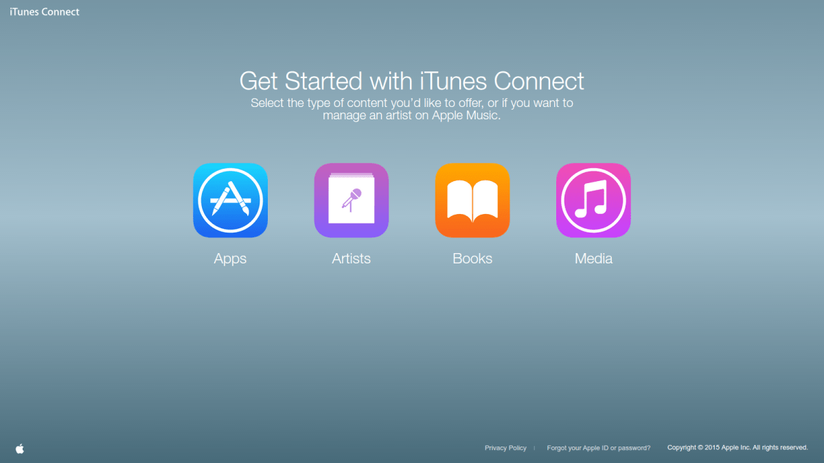 02 iTunes Connect - Get Started