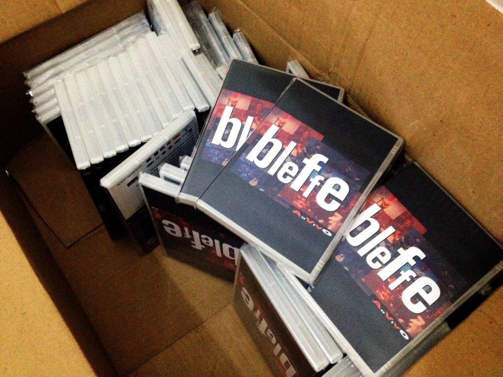 DVDs da banda Bleffe