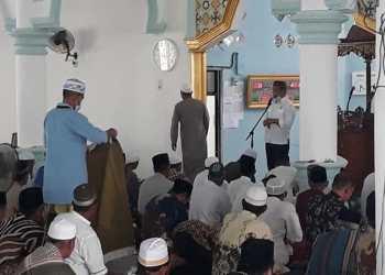Pidato dihadapan Jamaah di Mendahara