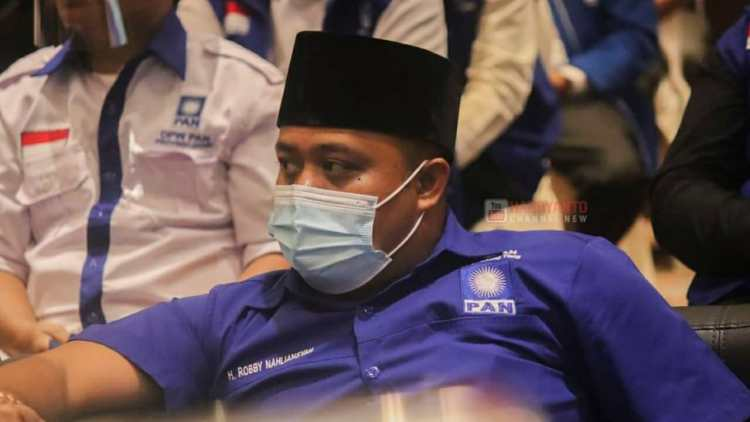 H. Robby Nahliansyah Ketua DPD PAN Tanjab Timur