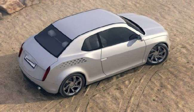 Концептуальная модель нового -Запорожца- от молодого дизайнера (6 фото)