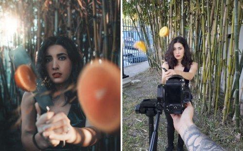 Фотограф показывает закулисье фотосъёмок, во время которых создаются безупречные снимки, достойные Instagram (21 фото)
