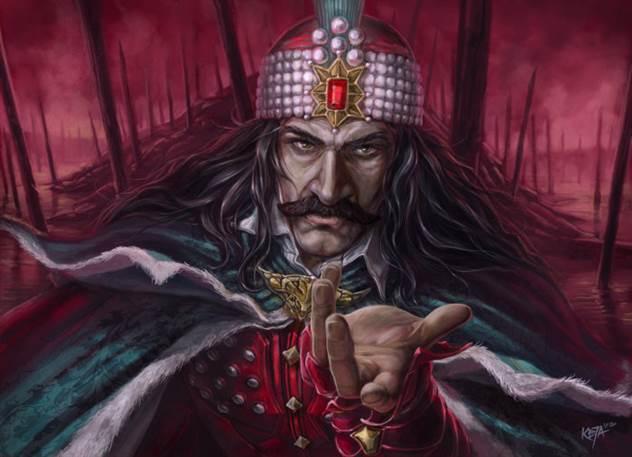 20 малоизвестных фактов о Владе Цепеше, известном, как кровожадный граф Дракула ( 20 фото + 1 гиф )