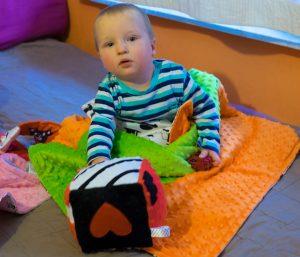 Zabawki sensoryczne Lundi dla niemowląt