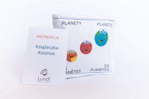 Książeczka Edukacyjna Kosmos - Lundi