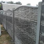 еврозабор карпатский камень при установке в Харькове