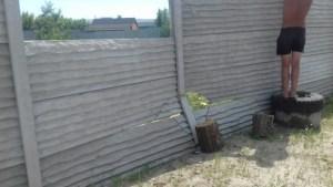 ремонт еврозабора в Харькове