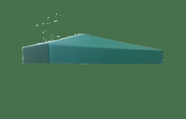 Крышка столба зелёная