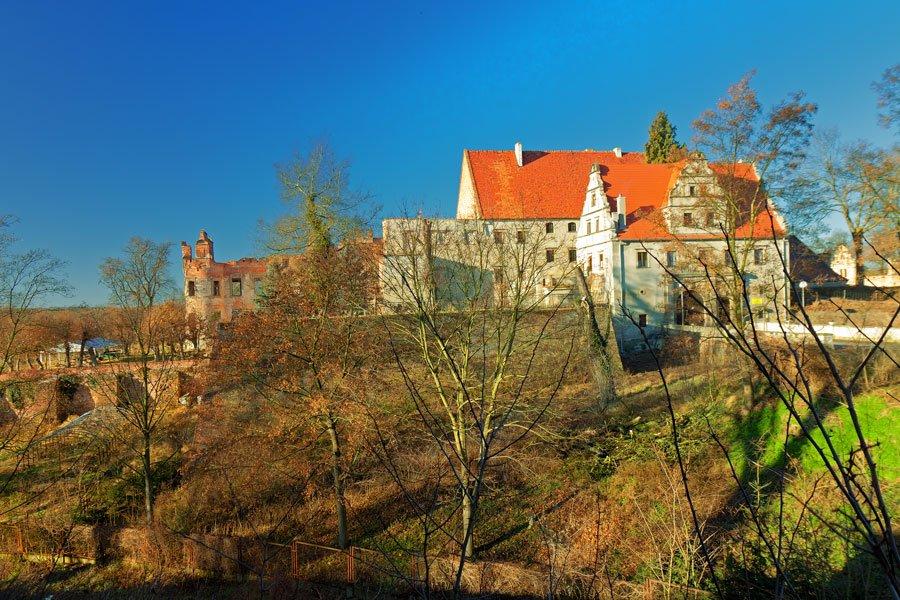 zamek w siedlisku