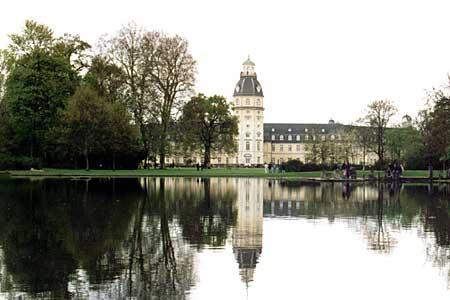 Pałac w Karlsruhe
