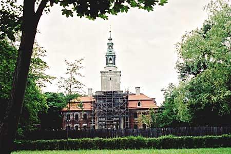 pałac w chocianowie