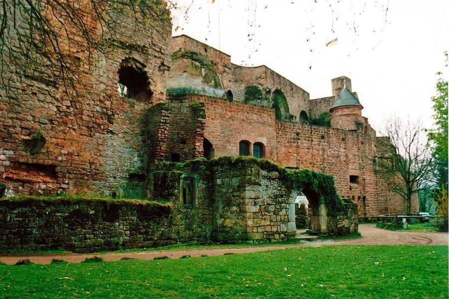 Zamek Nanstein