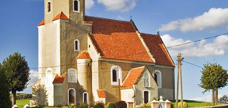 Kościół w Miłakowie