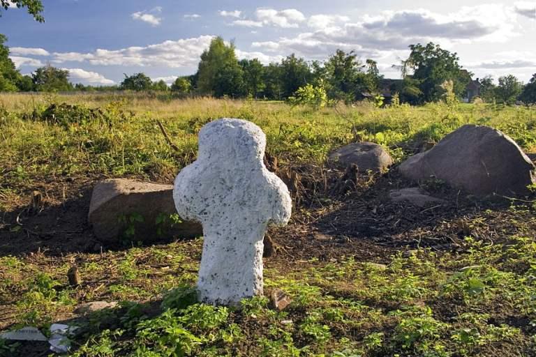 Krzyż kamienny w Miłakowie
