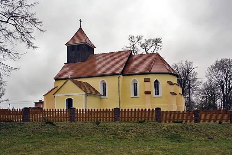 Kościół w Popęszycach