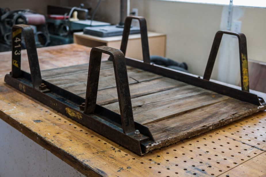 Industrial Stacking Cart Table (2 of 33)