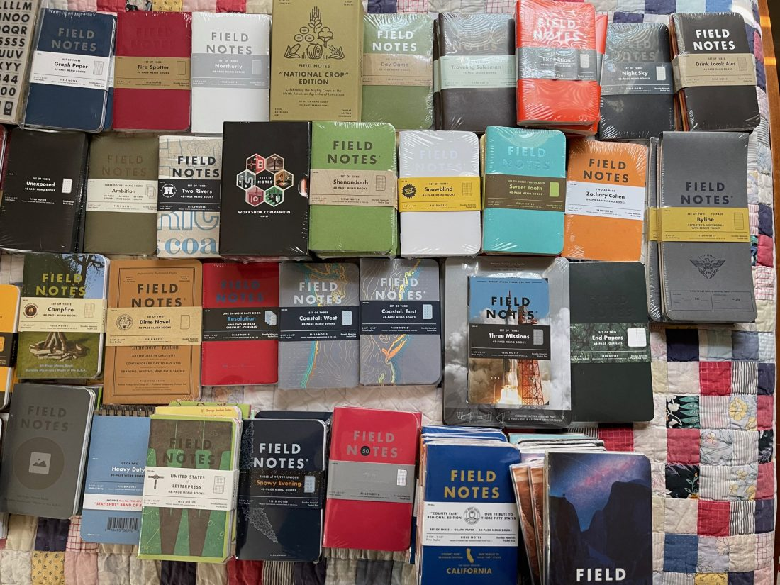 collection of Field Notes
