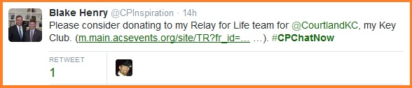 Donate to Blake's Relay for Life team