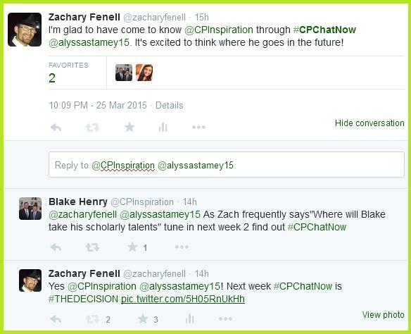 April 1st is the decision #CPChatNow!