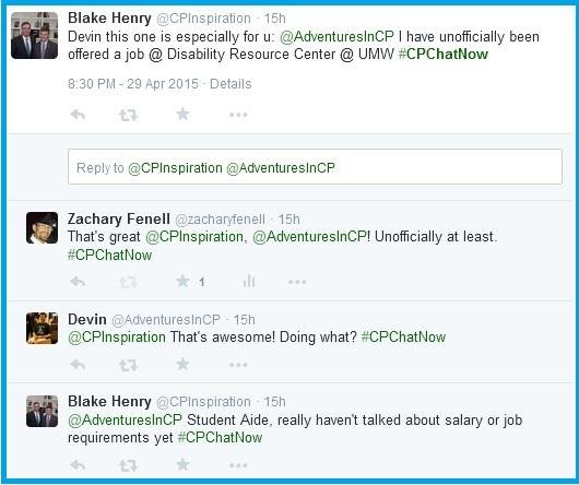 Blake's exciting news tweet one